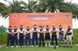 Brendon Union Golf 2021 - 10 years to pride