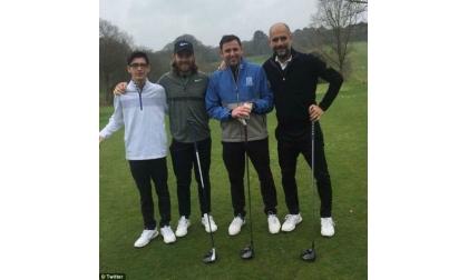 Bận đánh golf - Vẫn làm được việc lớn. Guardiola bận đánh golf khi Man City vô địch Ngoại hạng Anh