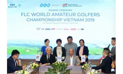 Tập đoàn FLC trở thành đơn vị tổ chức giải World Amateur Golfers Championship tại Việt Nam.