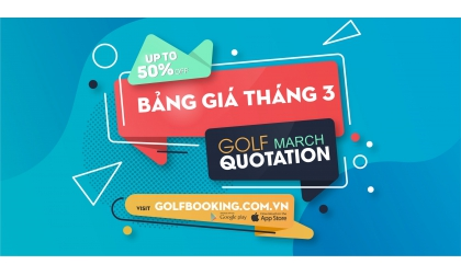 [INTERGOLF - PROMOTION] March 2020 Golf Booking Quotation