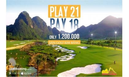 Trải nghiệm 3 hole mới của sân golf Kim Bảng Hoàn Toàn Miễn Phí - Đặt sân qua Intergolf