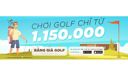 [INTERGOLF - PROMOTION] GOLF AUTUMN QUOTAITION- ONLY 1.150k/18holes