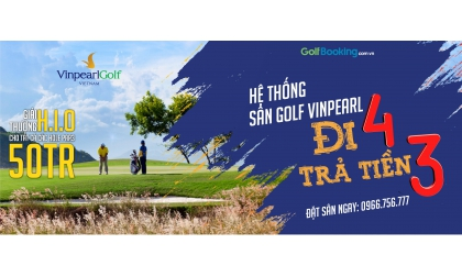 VINPEARL GOLF COURSE PLAY 4 PAY 3