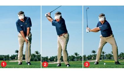 Cách đánh golf gậy sắt số 7  đưa bóng vào vị trí tốt nhất 