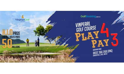 Promotion VINPEARL PLAY 4 PAY 3