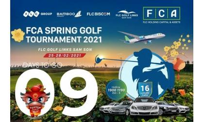 "GIỚI THIỆU GIẢI ĐẤU GOLF ""FCA SPRING GOLF TOURNAMENT 2021"" tại FLC Golf Links Sam Son"