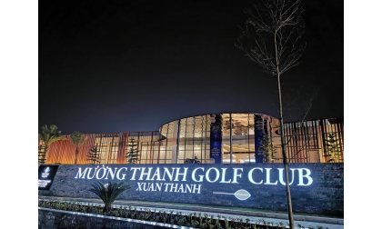MƯỜNG THANH XUÂN THÀNH - Địa điểm chơi golf và nghỉ dưỡng mới cho các golfer