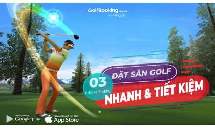 03 hình thức đặt sân golf tại Intergolf đảm bảo tiêu chí Nhanh, Tiết kiệm