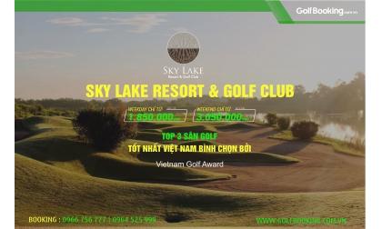 Sky Lake - Top 10 sân golf tốt nhất Việt Nam