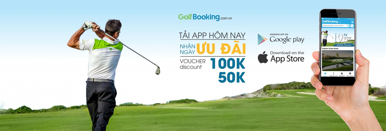 golf booking WEB