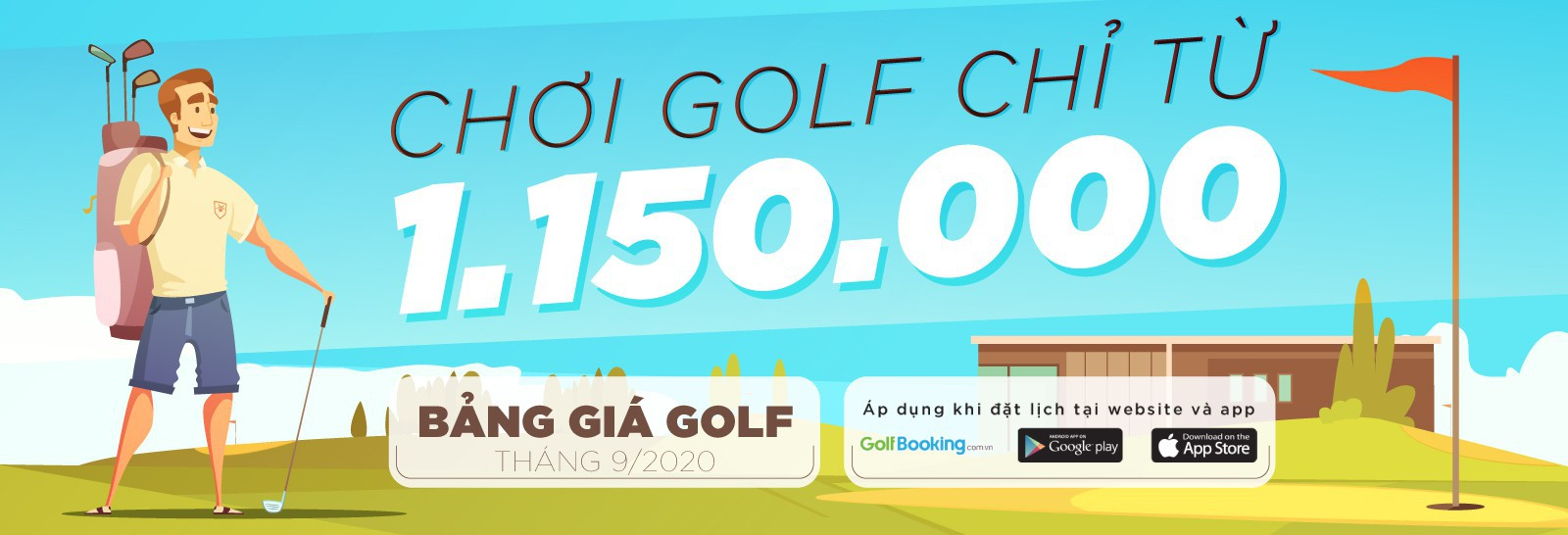 May 2020 Golf Booking Quotation